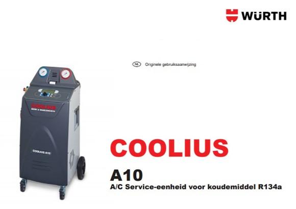 Handleiding Coolius A10