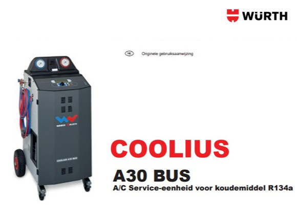Handleiding Coolius A30
