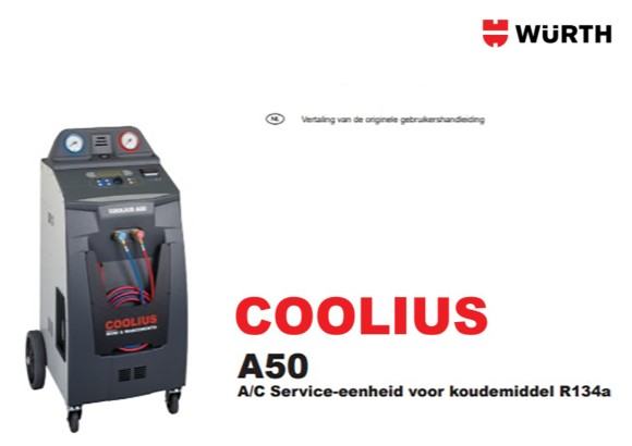 Handleiding Coolius A50