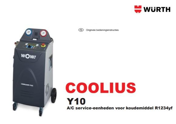 Handleiding Coolius Y10