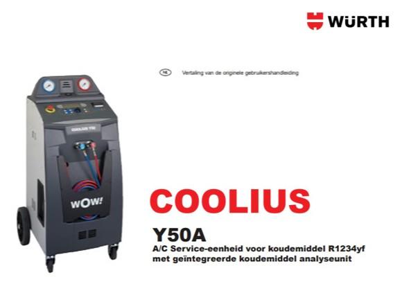 Handleiding Coolius Y50A
