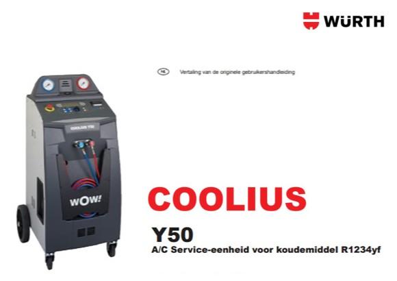 Handleiding Coolius Y50