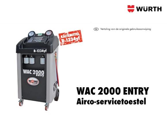 WOW handleiding WAC 2000 Entry