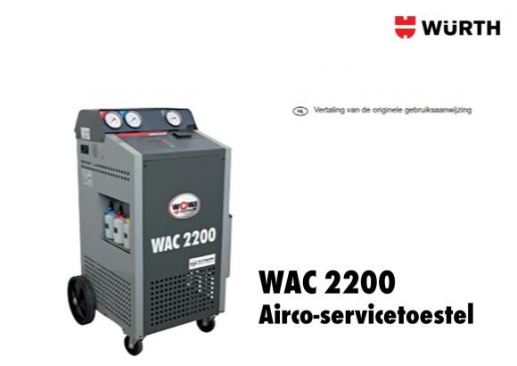 WOW handleiding WAC 2200