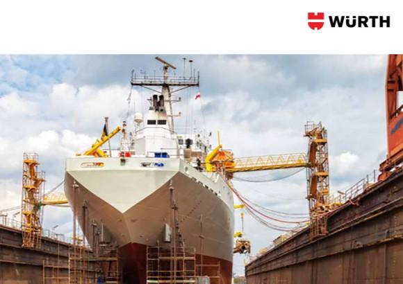 Brochure Producten voor de scheepsbouw